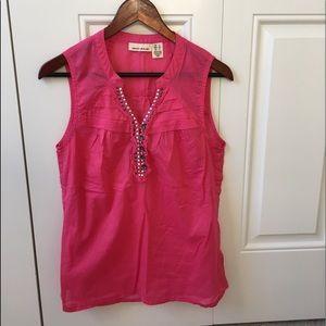 DKNY hot pink top